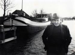 Roelf Krook april 1983 voor de Spes Mea