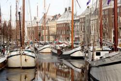 Spes Mea in Groningen als hotelschip voor overnachtingen bijvoorbeeld tijdens Noorderslag of Oud/Nieuw